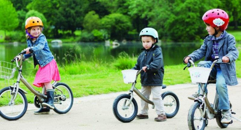 Children's bike-share in Paris