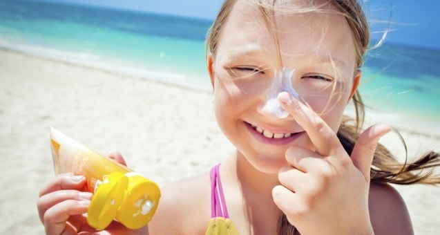 Children's sunscreens