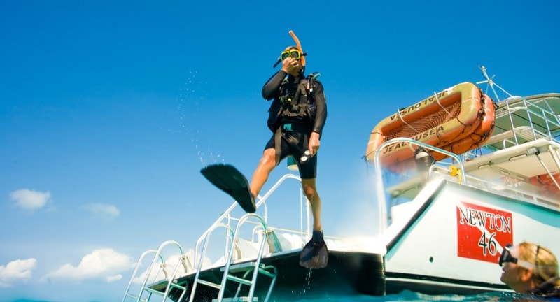 Scuba diving holidays for kids