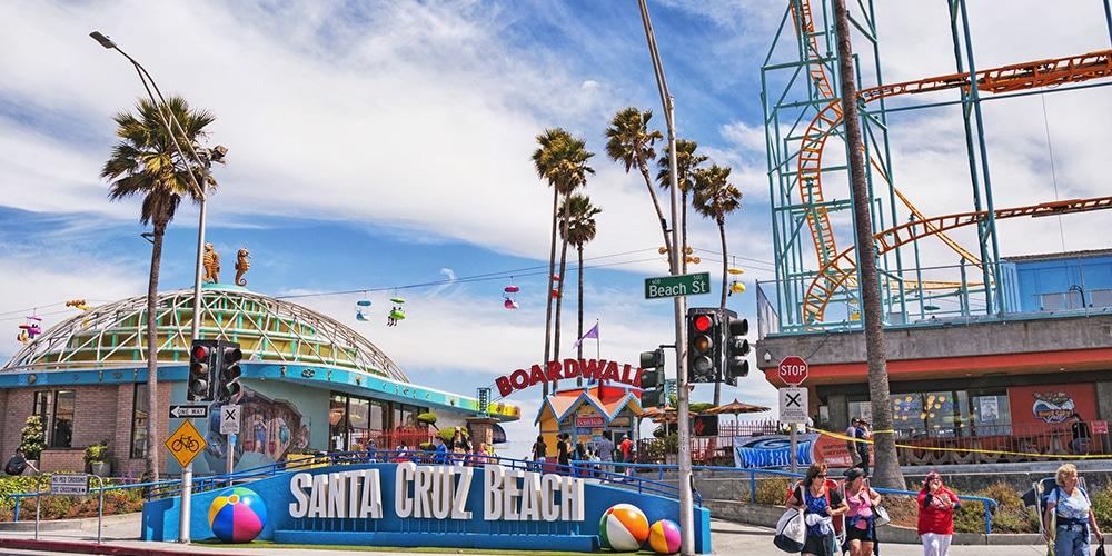Santa Cruz, Beach Boardwalk, California, USA