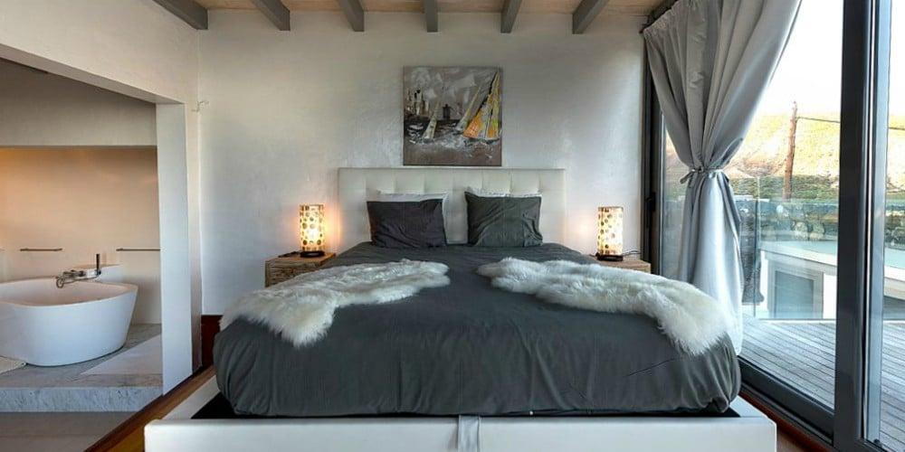 Bedroom at Finca de Arrietta