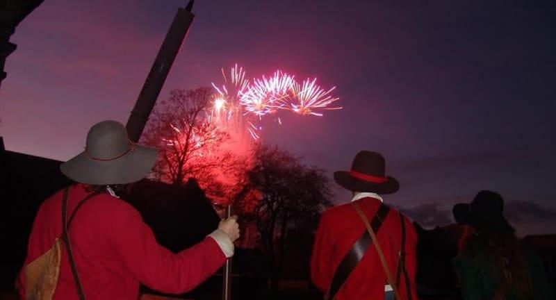 Gunpowder mils essex fireworks