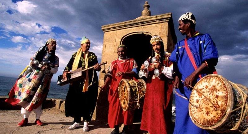 Morocco traditional dress