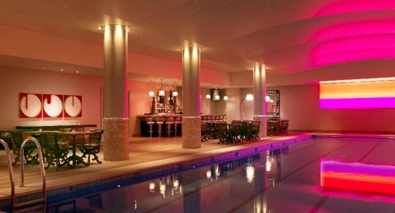 swimming pool in haymarket hotel london