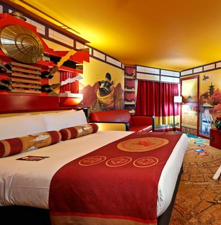 Ninjago room Legoland Windsor