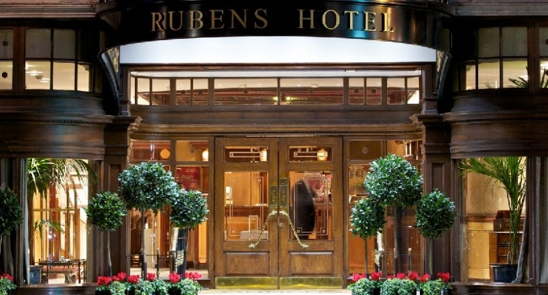 the rubens at the palace hotel london