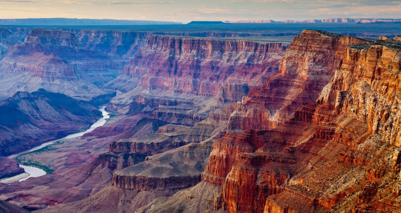 A view of the Grand Canyon from Northwestern Arizona