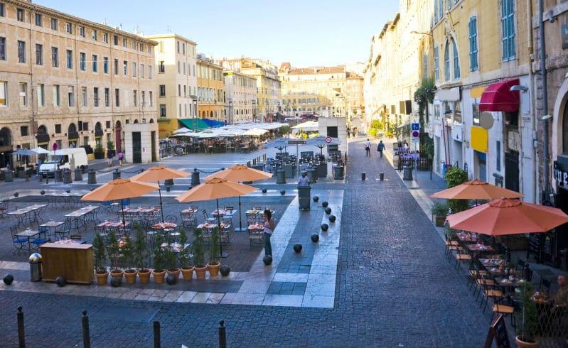 Marseille city centre