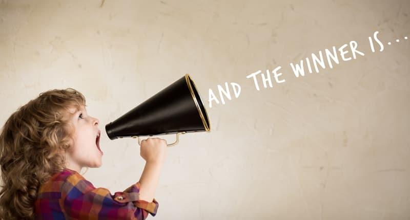 little girl megaphone