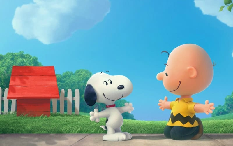 snoopy and charlie brown film