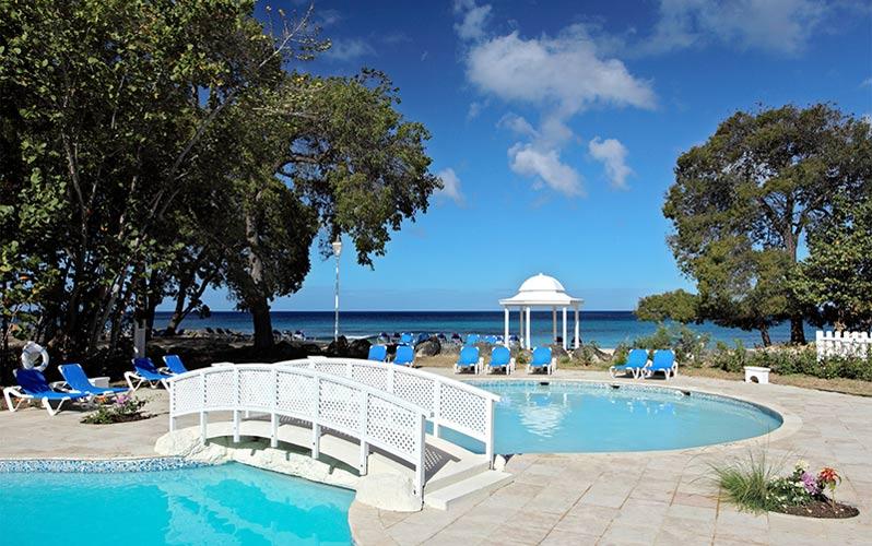 Barbados, Almond Beach Hotel, family friendly resorts Tropical Sky