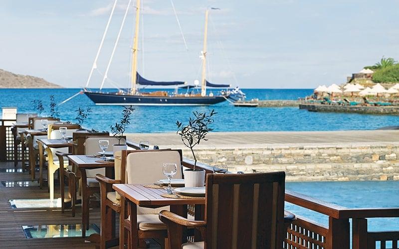Porto Elounda Odysseus Restaurant