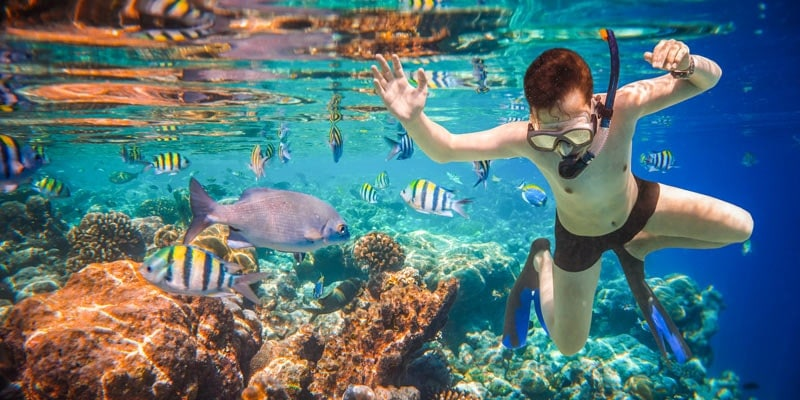 boy-snorkelling-at-maldives-reef