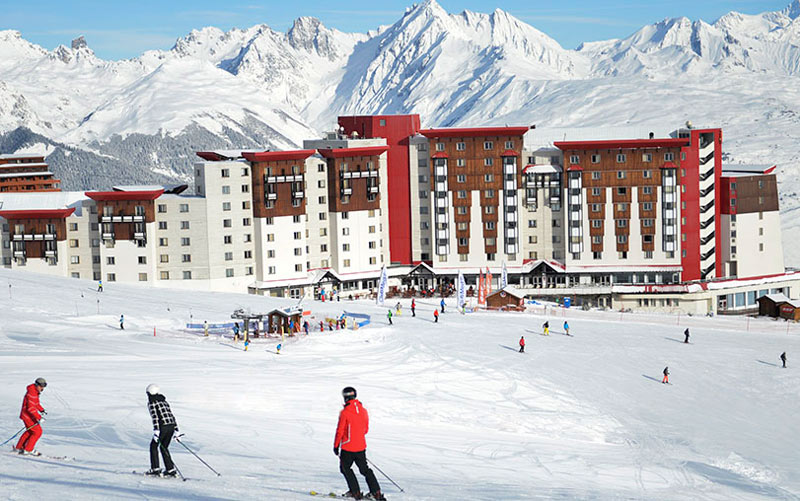 club-med-la-plagne-resort the alps france