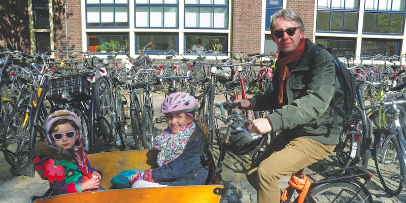 David Atkinson - cycling in the netherlands