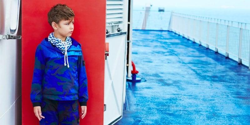 nautical fashion shoot