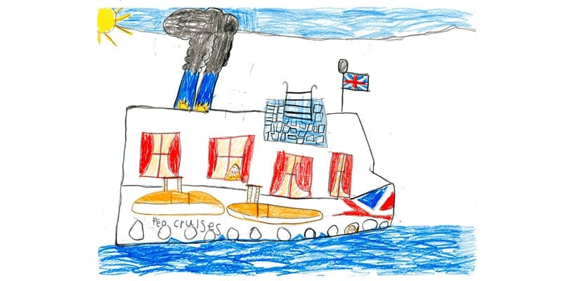 child's-drawing-of-cruise-ship