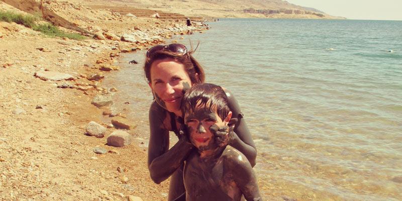 jordan_family_mother-son-mud