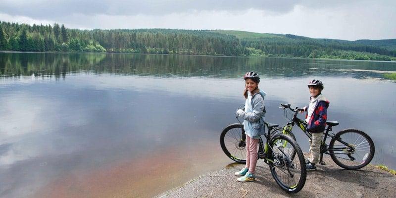 Kielder-cycling-Scarlett-and-Fin