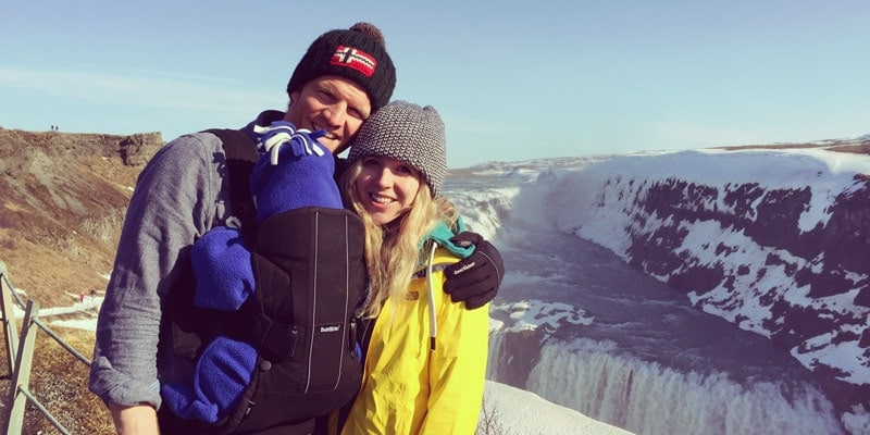 james-gough-and-wife-and-baby-in-iceland
