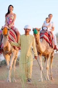Camel ride Rak