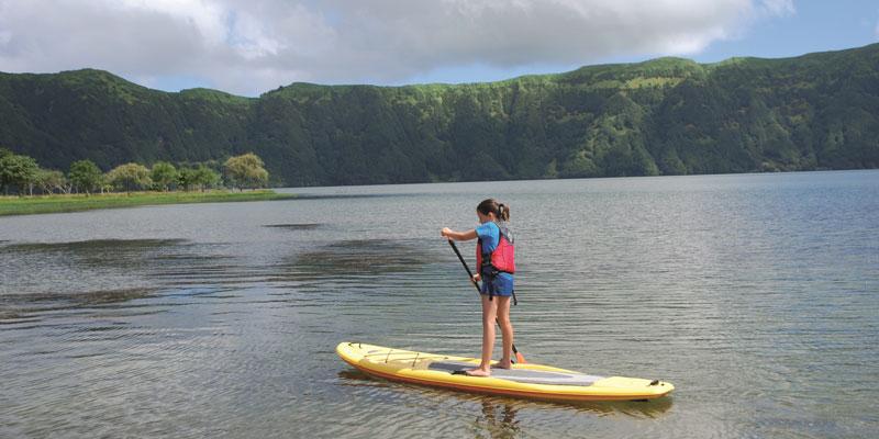 Azores-paddleboarding