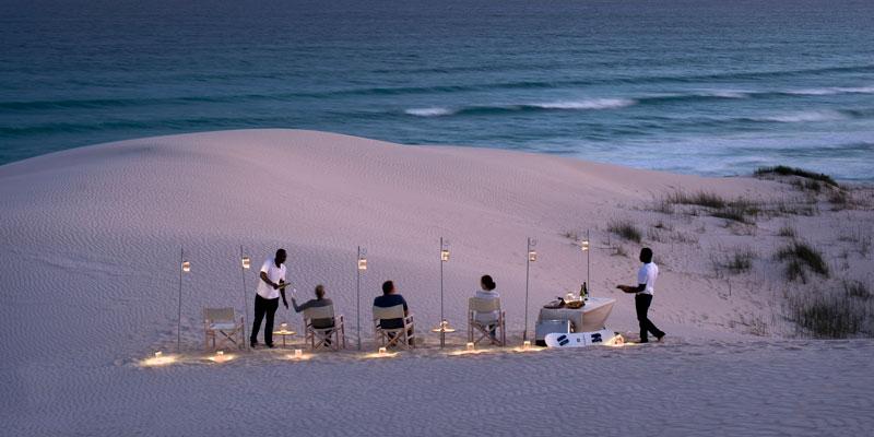 Morukuru-Ocean-House---sundowners-in-the-dunes