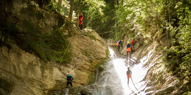 chaminox-canyoning