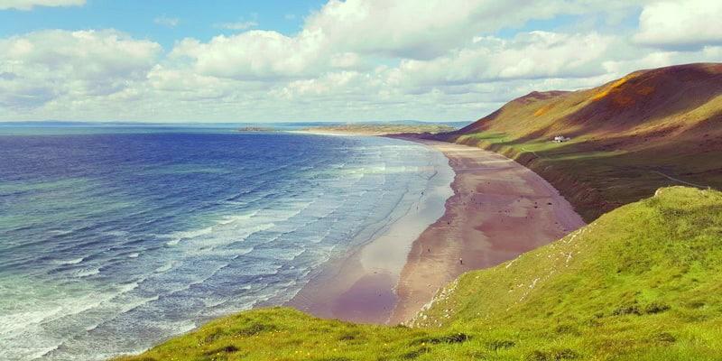 Llangennith-beach-Wales-uk