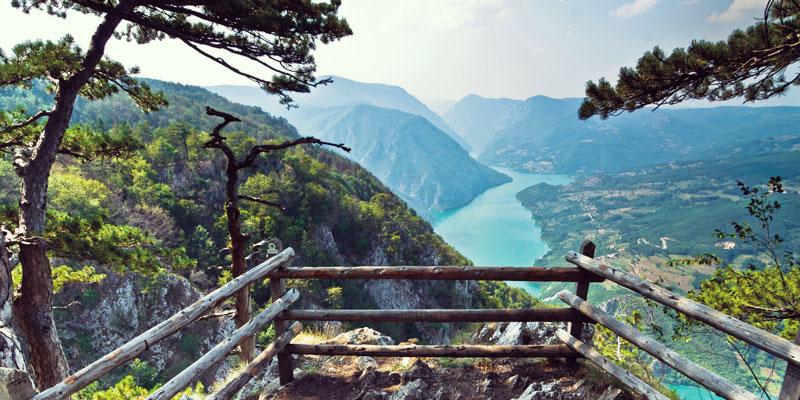Serbia Mountain views