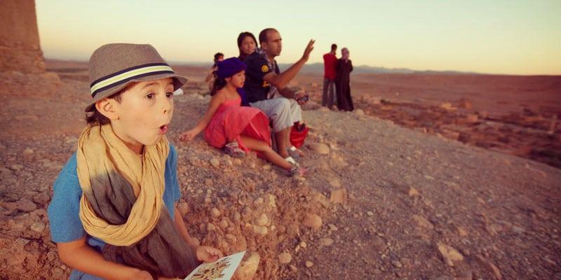 kid in Morocco