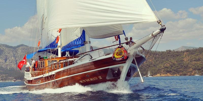 gulet-sailing