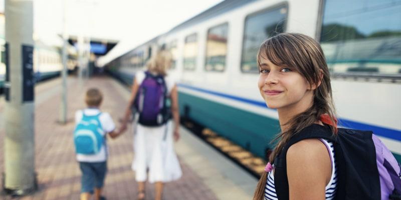 Train platform France