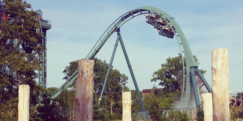 Baron rollercoaster Efteling