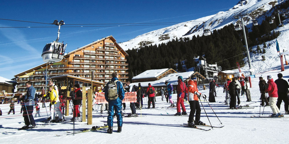 France,-Meribel-skiing