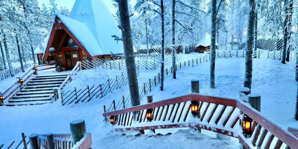 Rovaniemi Finnish Lapland family winter breaks to enchant kids