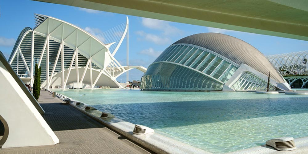 Hemisferic Imax Dome Valencia Spain