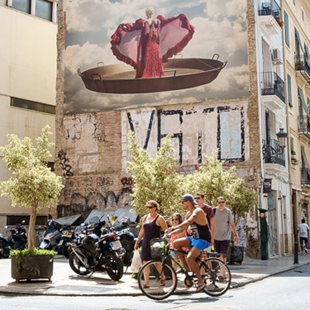 Cycling in Valencia Spain