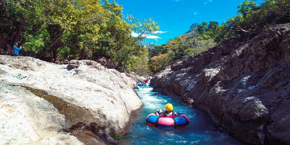 river tubing Costa Rica water adventures