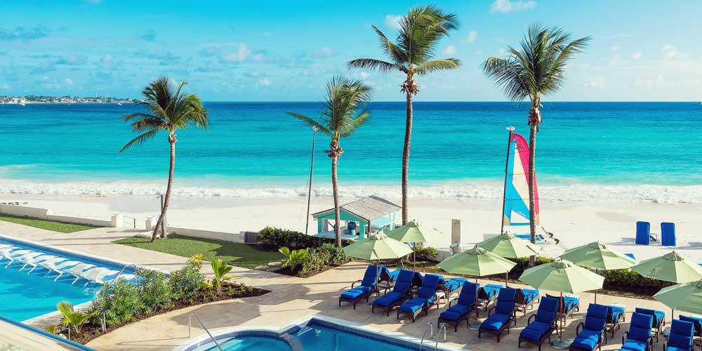 Barbados beach resort summer savings