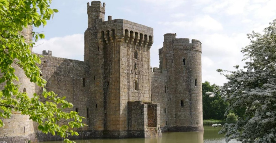 Bodiam Castle 10 National Trust family days out worth a road trip with kids