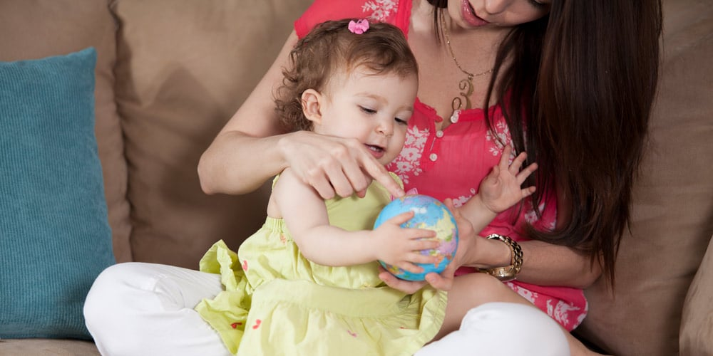 mother and baby - tips for your first holiday with a baby