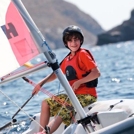 Boy sailing - how to sail