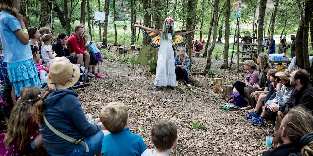 woman in fairy costume - family-friendly festivals in 2018