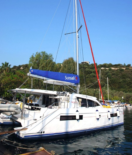 boat in harbour - Ionian Islands