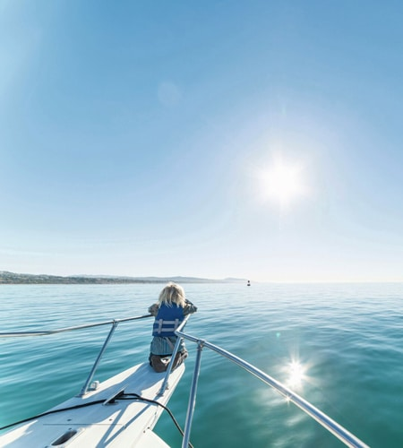 boy looking out to sea - how to sail