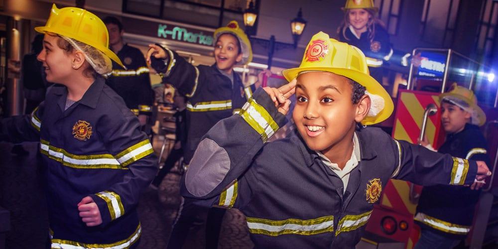 firefighters kidzania london
