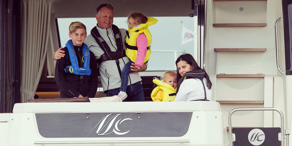 Motor yacht family RYA training courses