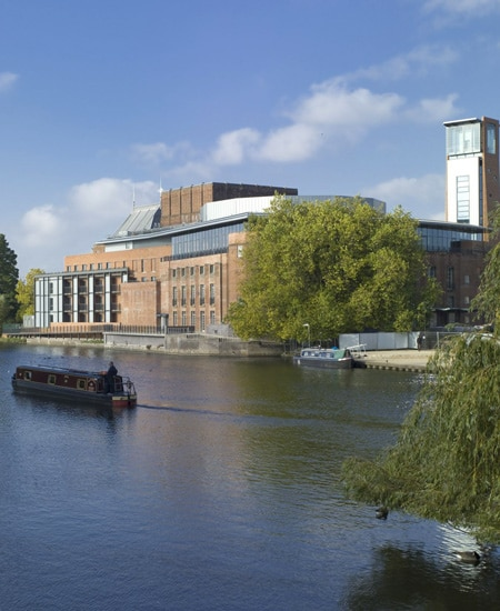 Royal Shakespeare Theatre on the river William Shakespeare