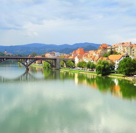 Maribor city Slovenia